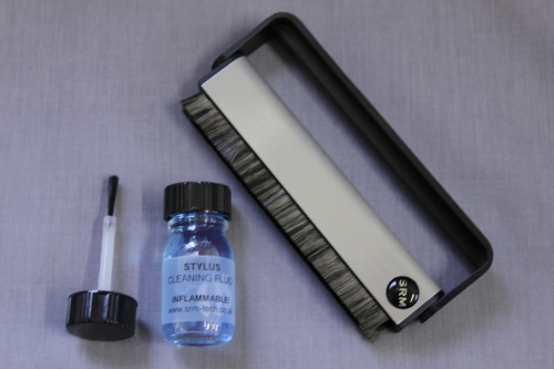 Anti-Static Carbon Fibre Record Brush & Stylus Cleaning Kit Package