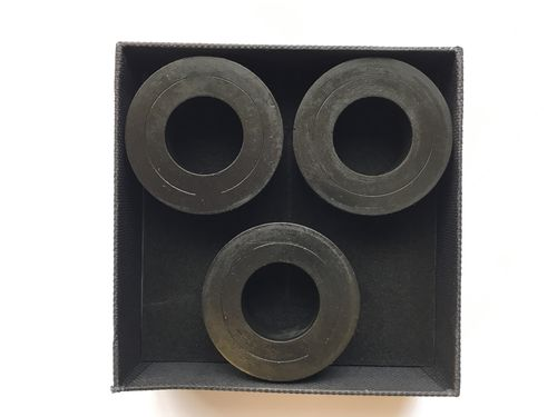 Sorbothane Isolation Rings - Heavy Duty 70 Duro - 3 Pack